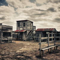 Ghastly Ghost Town
