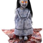 Horrifying Graveyard Animatronic Demonic Zombie Baby Doll