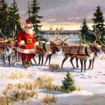 Santa's Enchanted Reindeer