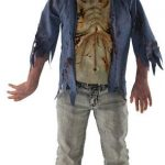 Low Cost Walking Dead Zombie Costume For Teens