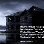 The Devil's Hour Haunted House Poem
