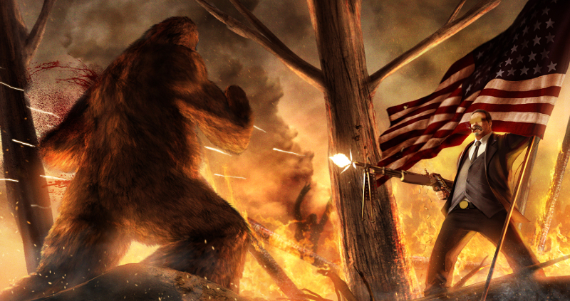 The North American Sasquatch Uprising!