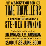 The Stephen Hawking Time Traveler Party